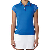 adidas Girls' Micro Dot Golf Polo
