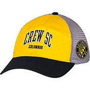 adidas Men's Columbus Crew Yellow/Black Mesh Back Adjustable Hat