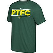 adidas Men's Portland Timbers Local Saying Dassler Green T-Shirt