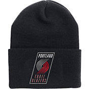 '47 Men's Portland Trail Blazers Black Cuffed Knit Hat