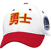 adidas Men's Golden State Warriors Chinese New Year White/Red Adjustable Hat