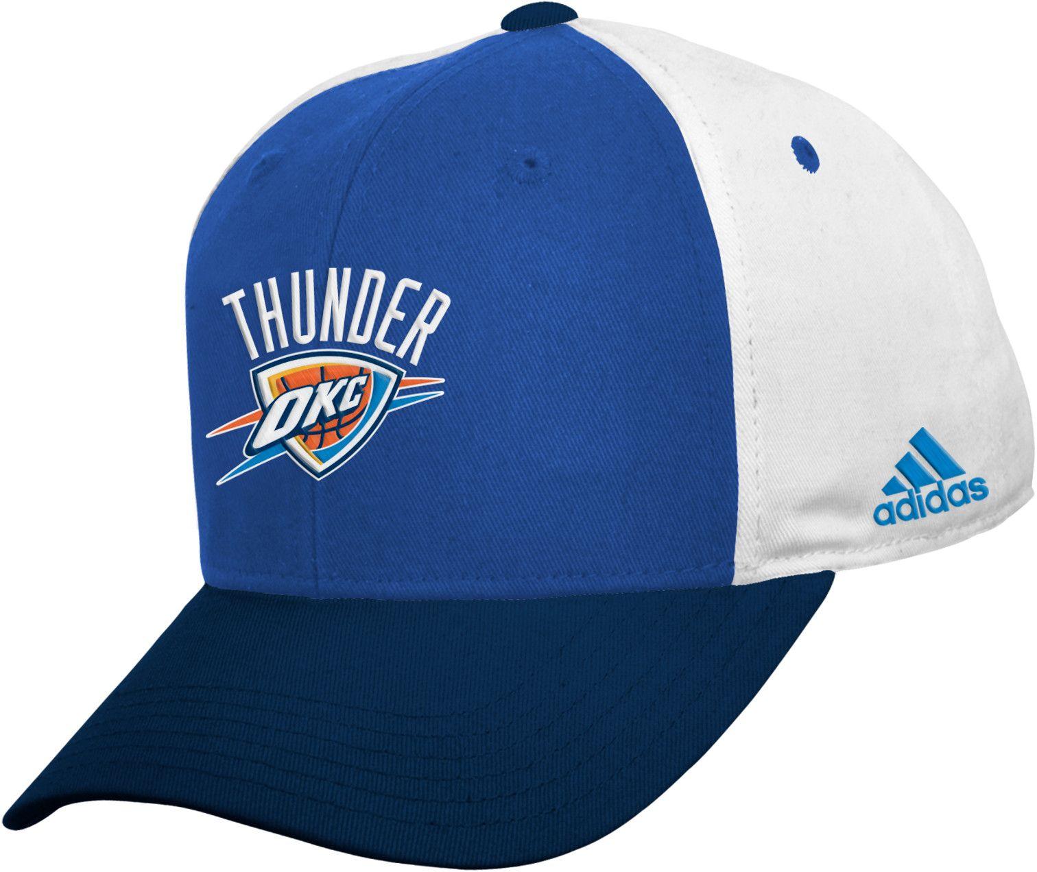 adidas Boys Oklahoma City Thunder Adjustable Hat DICKS Sporting Goods