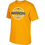 adidas Youth Golden State Warriors Gold T-Shirt