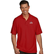 Antigua Men's Los Angeles Clippers Xtra-Lite Red Pique Performance Polo