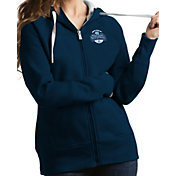 Antigua Women's North Carolina Tar Heels 2017 NCAA Men's Basketball National Champions Victory Full-Zip Hoodie