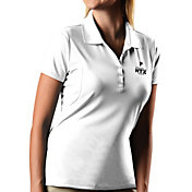 Antigua Women's Super Bowl LI Bound Atlanta Falcons Pique Xtra-Lite White Polo