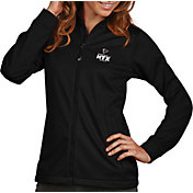 Antigua Women's Super Bowl LI Bound Atlanta Falcons Full-Zip Black Golf Jacket