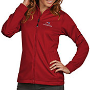 Antigua Women's Super Bowl LI Champions New England Patriots Full-Zip Red Golf Jacket