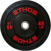 ETHOS 45 lb. Olympic Rubber Bumper Plate