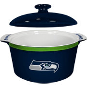 Boelter Seattle Seahawks Game Time 2.4qt Oven Ceramic Bowl