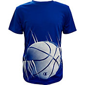 Champion Boys Inversion Conversion Graphic Basketball T-Shirt