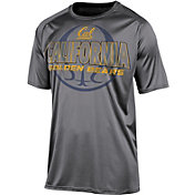 Champion Men's California Golden Bears Grey High Impact Basketball T-Shirt