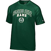 Champion Men's Colorado State Rams Green Performance Tee