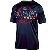 Champion Men's Gonzaga Bulldogs Blue Impact Basketball T-Shirt