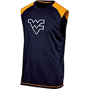 Champion Men's West Virginia Mountaineers Blue Muscle Tee