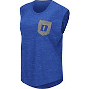 Colosseum Athletics Women's Duke Blue Devils Duke Blue Pocket Tank Top