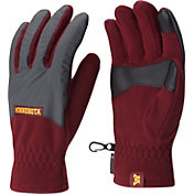 Columbia Minnesota Golden Gophers Overlay Gloves