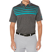 Callaway Men's Ombre Chest Stripe Heather Golf Polo