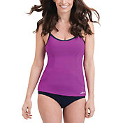 Dolfin Women's Aquashape Scoop Neck Tankini Top