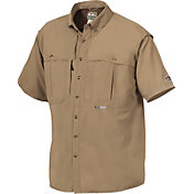 Drake Waterfowl Men's Vented Wingshooter's Short Sleeve Shirt - Big & Tall