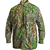 Drake Waterfowl Men's Vestless Mesh-Back Long Sleeve Shirt