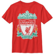 Fifth Sun Youth Liverpool Logo Red T-Shirt