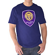 G-III Men's Orlando City Logo Purple T-Shirt