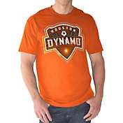G-III Men's Houston Dynamo Logo Orange T-Shirt