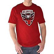 G-III Men's DC United Logo Red T-Shirt