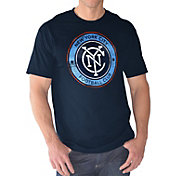 G-III Men's New York City FC Logo Royal T-Shirt