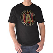 G-III Men's Atlanta United Logo Black T-Shirt