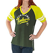 G-III For Her Women's Portland Timbers Fastball Green T-Shirt