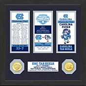 Highland Mint North Carolina Tar Heels 2017 NCAA Men's Basketball National Champions Ticket Collection