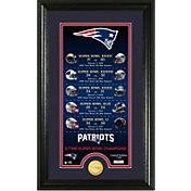 "Highland Mint 5-Time Super Bowl Champions New England Patriots ""Legacy"" Supreme Bronze Coin Photo Mint"