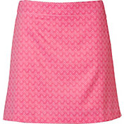 Lady Hagen Women's Essentials Printed Golf Skort – Plus Size