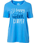 Life is Good Women's Crusher Happy Camper T-Shirt