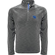 Levelwear Men's Kentucky Wildcats Grey Mobility Quarter-Zip Long Sleeve Shirt