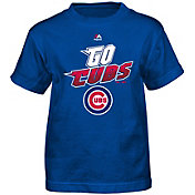 Majestic Boys' Chicago Cubs Loud Speakers Royal T-Shirt