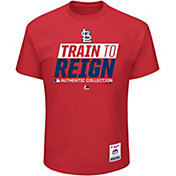 Majestic Men's St. Louis Cardinals 2017 Spring Training Authentic Collection Red T-Shirt