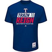 Majestic Men's Texas Rangers 2017 Spring Training Authentic Collection Royal T-Shirt