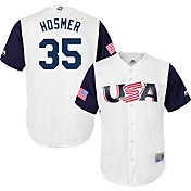 Majestic Men's Replica 2017 WBC USA Eric Hosmer #35 Cool Base Jersey