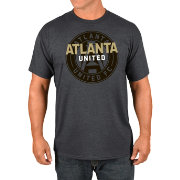 Majestic Men's Atlanta United Wordmark Charcoal T-Shirt