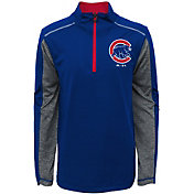 Majestic Youth Chicago Cubs Club Series Royal Quarter-Zip Fleece