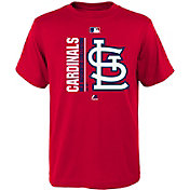 Majestic Youth St. Louis Cardinals Authentic Collection Red T-Shirt