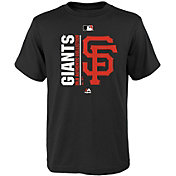 Majestic Youth San Francisco Giants Authentic Collection Black T-Shirt