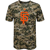 Majestic Youth San Francisco Giants Cool Base Digi Camo Performance T-Shirt