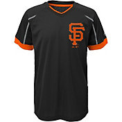 Majestic Youth San Francisco Giants Cool Base Emergence Grey Performance T-Shirt