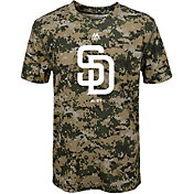 Majestic Youth San Diego Padres Cool Base Digi Camo Performance T-Shirt