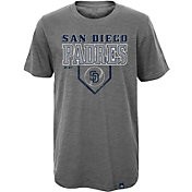 Majestic Youth San Diego Padres Heirloom Grey T-Shirt