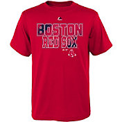 Majestic Youth Boston Red Sox Spark Red T-Shirt
